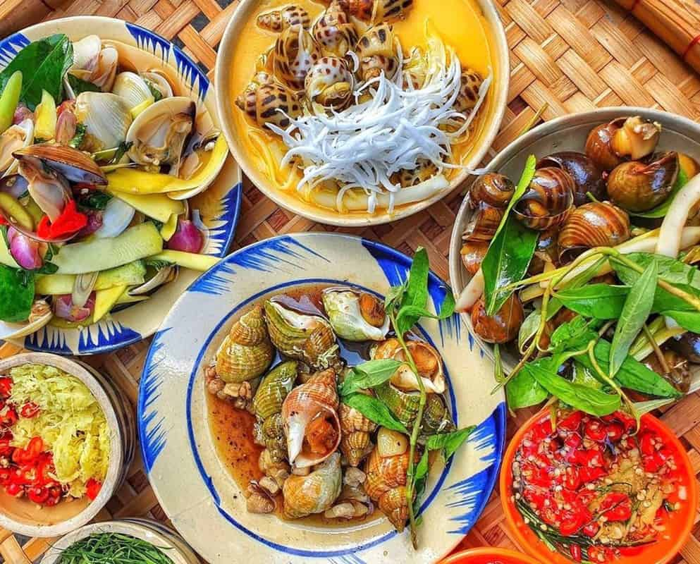 Các món ăn làm từ ốc