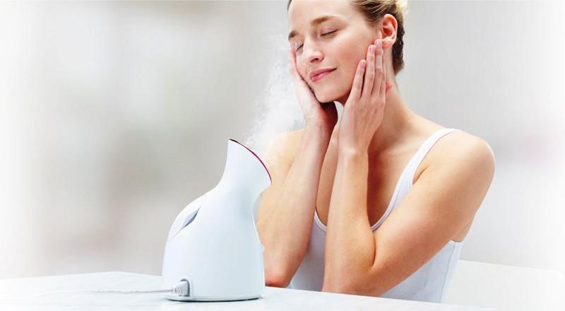 Tại sao nên sử dụng máy xông hơi mặt thường xuyên?