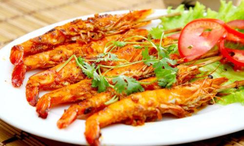Học ngay cách ướp tôm nướng muối ớt siêu ngon – ăn là ghiền !