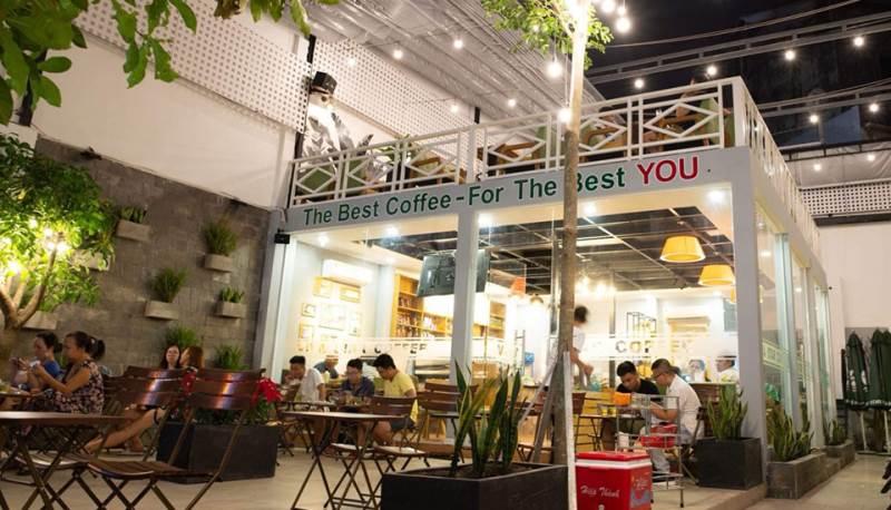Viva coffee là một trong những địa điểm quan thuộc