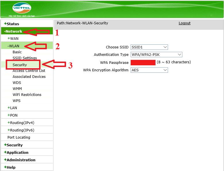 Cách đổi mật khẩu wifi của Viettel, VNPT, FPT trên điện thoại và máy tính - 1