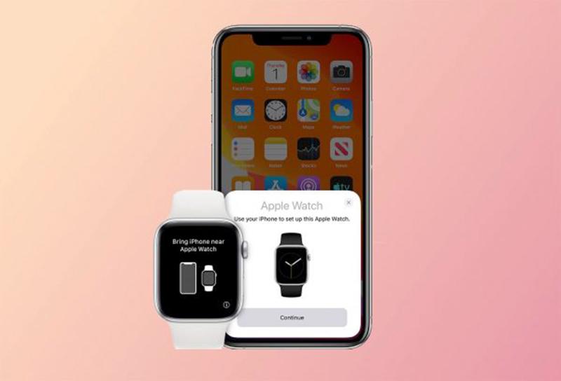 Ghép iPhone với Apple Watch