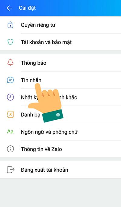 Cách khôi phục tin nhắn Zalo đã xoá trên điện thoại - 2
