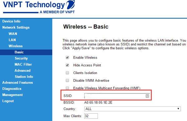 Cách đổi mật khẩu wifi của Viettel, VNPT, FPT trên điện thoại và máy tính - 2