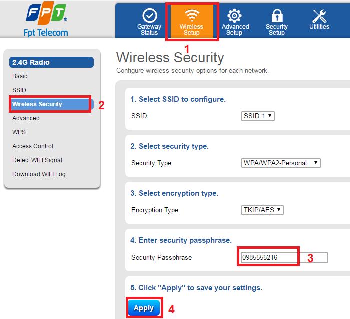 Cách đổi mật khẩu wifi của Viettel, VNPT, FPT trên điện thoại và máy tính - 3