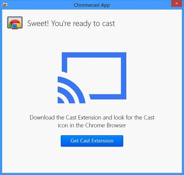 Hoàn thành kết nối ChromeCast với tivi
