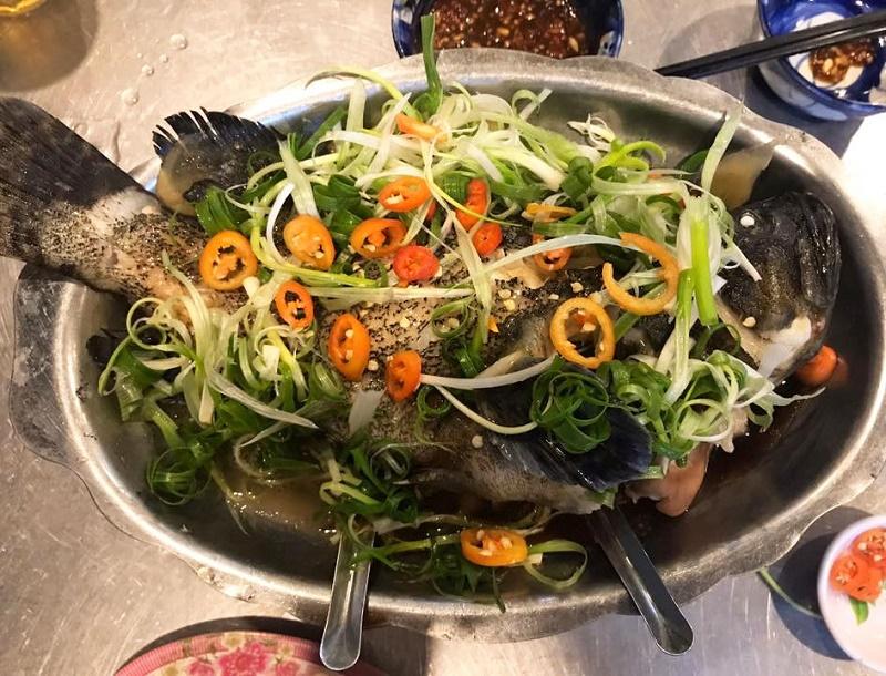 Nguyên liệu làm món cá bống mú chưng tương