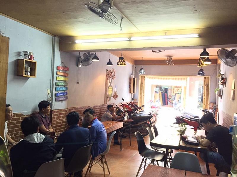 Không gian quán Totoco – Trà Sữa & Coffee