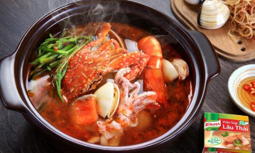 Cách nấu lẩu hải sản thái chua cay, ngon khó cưỡng 12