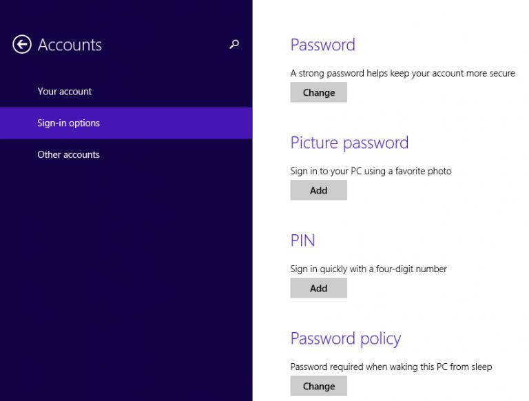 Cách cài mật khẩu máy tính chạy Windows 7, 8, 8.1, 10 7
