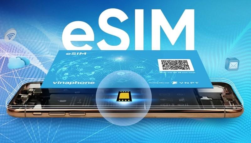 eSIM nhỏ hơn và tinh vi hơn SIM truyền thống