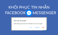 Hướng dẫn cách khôi phục tin nhắn đã xóa trên Facebook nhanh gọn 5