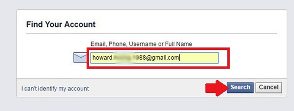 Nhập địa chỉ mail/ tên đăng nhập/ số điện thoại để xác minh