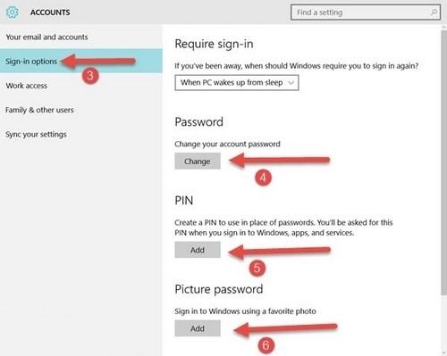 Cách cài mật khẩu máy tính chạy Windows 7, 8, 8.1, 10 2