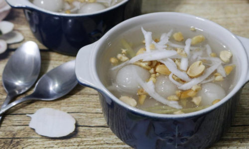 Cách nấu chè bột lọc nước cốt dừa thơm ngon béo ngậy 9