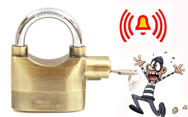 Phân loại ổ khóa chống trộm
