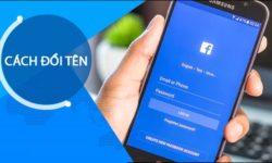 Cách đổi tên Facebook đơn giản trên điện thoại và máy tính 1