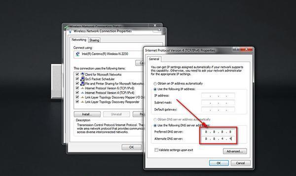 Điền 1 DNS Server Chọn OK để hoàn tất