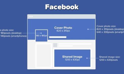 Kích thước ảnh bìa, avatar, ảnh quảng cáo Facebook mới nhất
