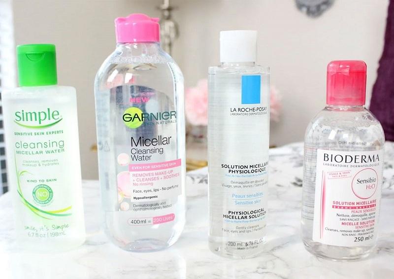 Kinh nghiệm lựa chọn nước tẩy trang cho từng loại da