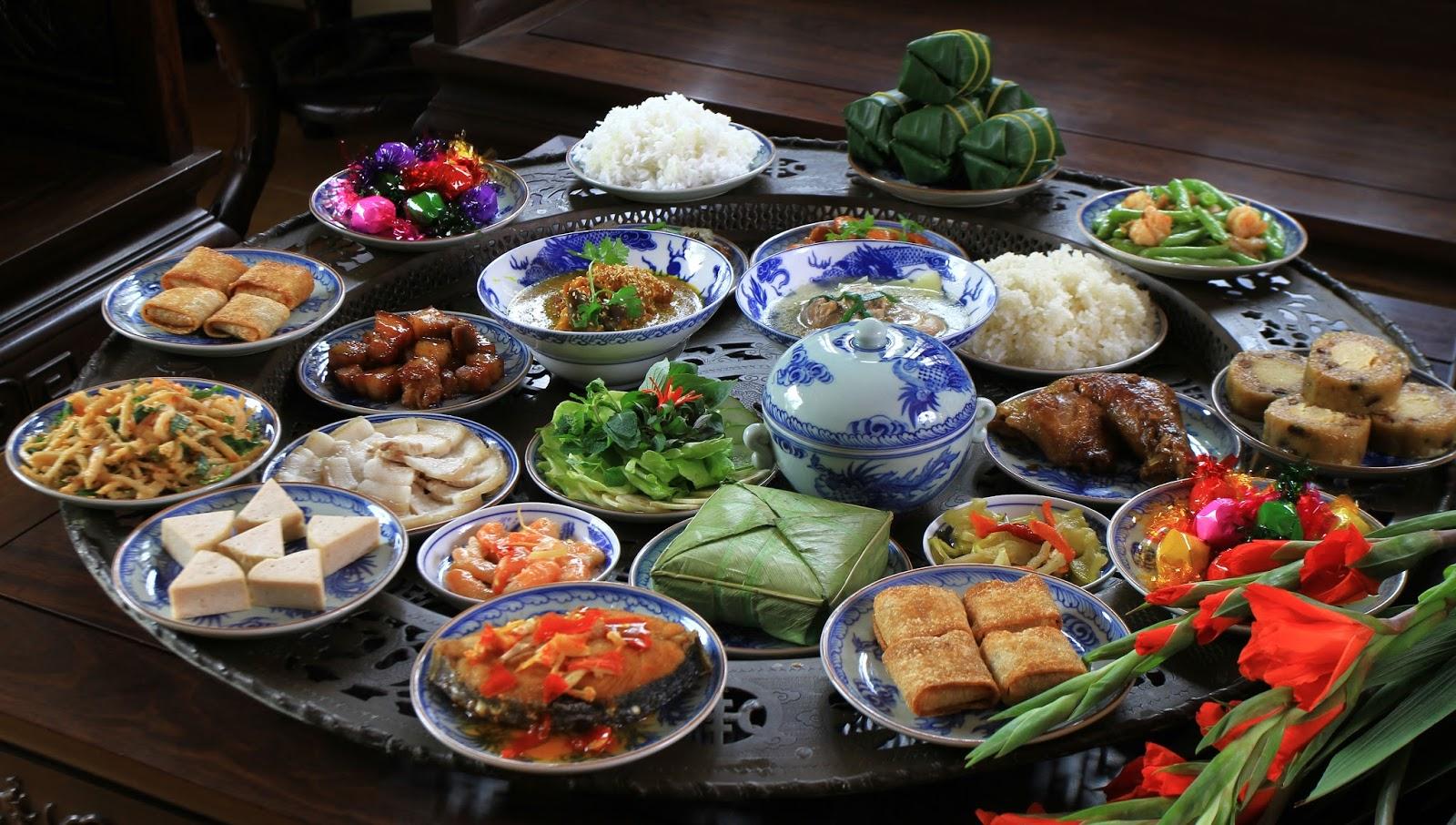Các món ăn ngày Tết ở miền Bắc