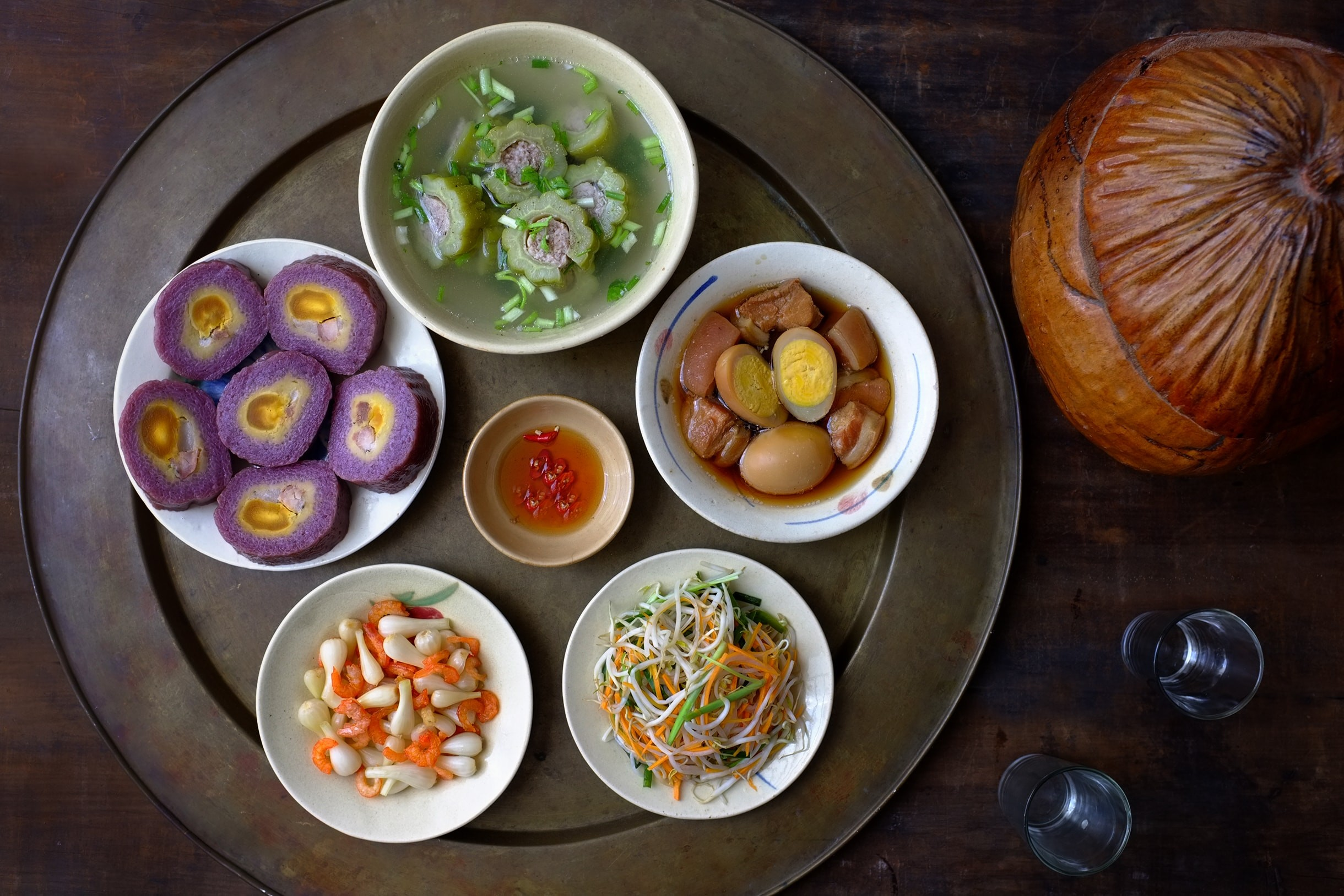 Các món ăn ngày Tết ở miền Nam