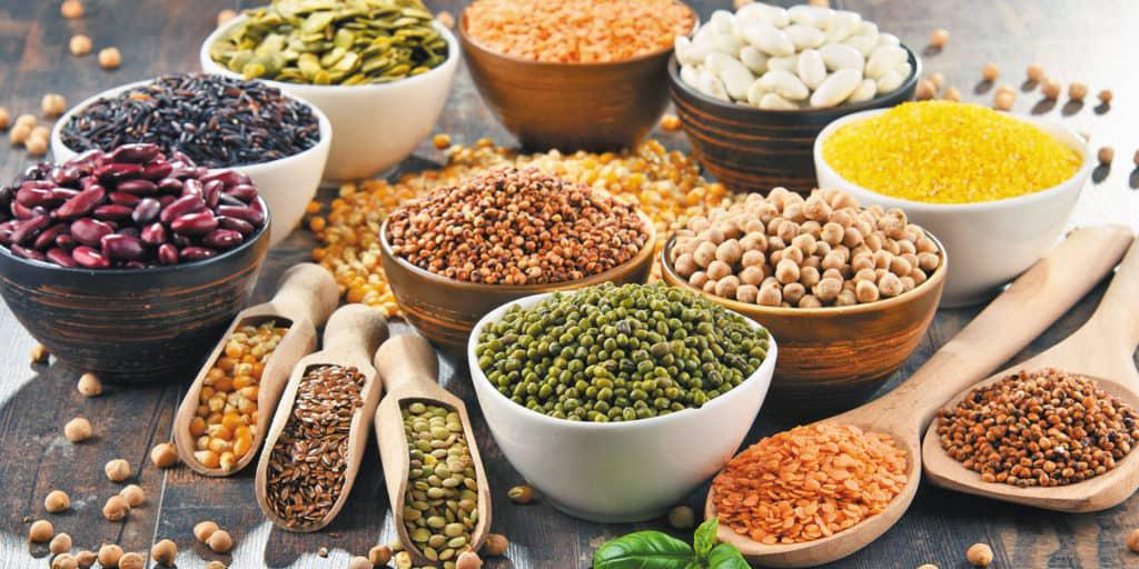 Chuẩn bị những nguyên liệu làm bột ngũ cốc