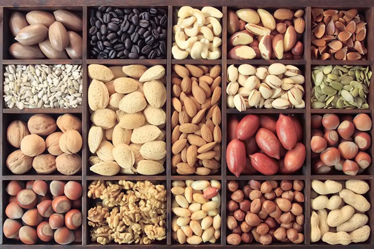 Bảo quản các loại hạt ở nơi khô ráo