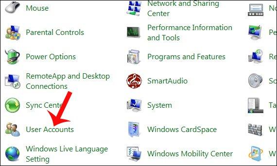 Cách cài mật khẩu máy tính chạy Windows 7, 8, 8.1, 10 9