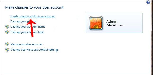 Cách cài mật khẩu máy tính chạy Windows 7, 8, 8.1, 10 10