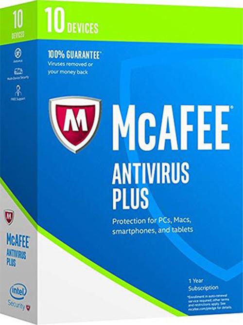 Phần mềm McAfee AntiVirus Plus