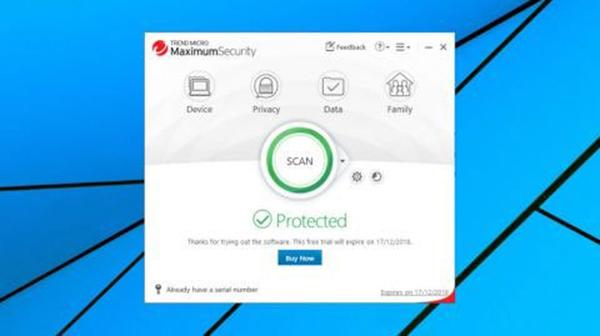 Phần mềm Trend Micro Antivirus+ Security