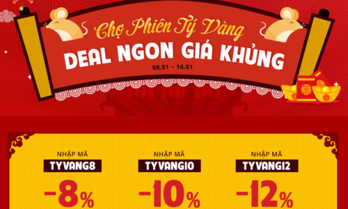 Chợ phiên Tý vàng - Deal ngon giá khủng 5