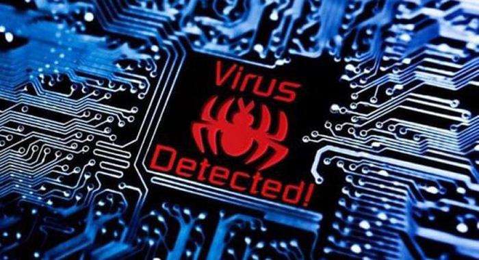 Có thể máy tính đã bị nhiễm virus