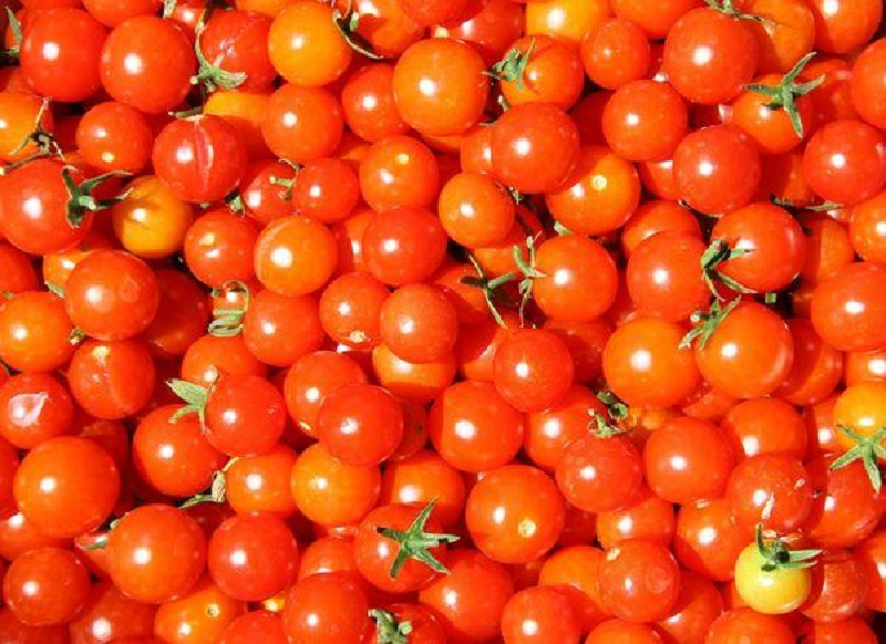 Choosing ingredients is an important step in how to make cherry tomato jam.