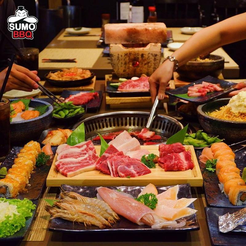 Sumo BBQ – Nơi lý tưởng để thưởng thức tiệc nướng