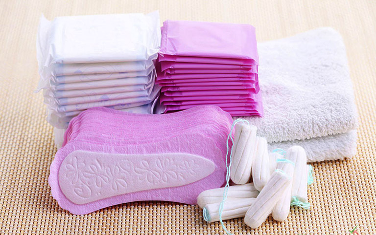 Classification of sanitary napkins