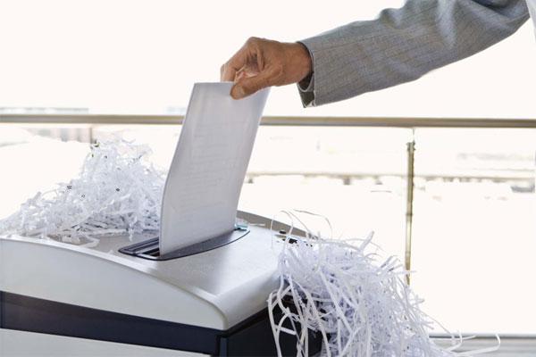 Tiêu chí chọn mua máy hủy tài liệu