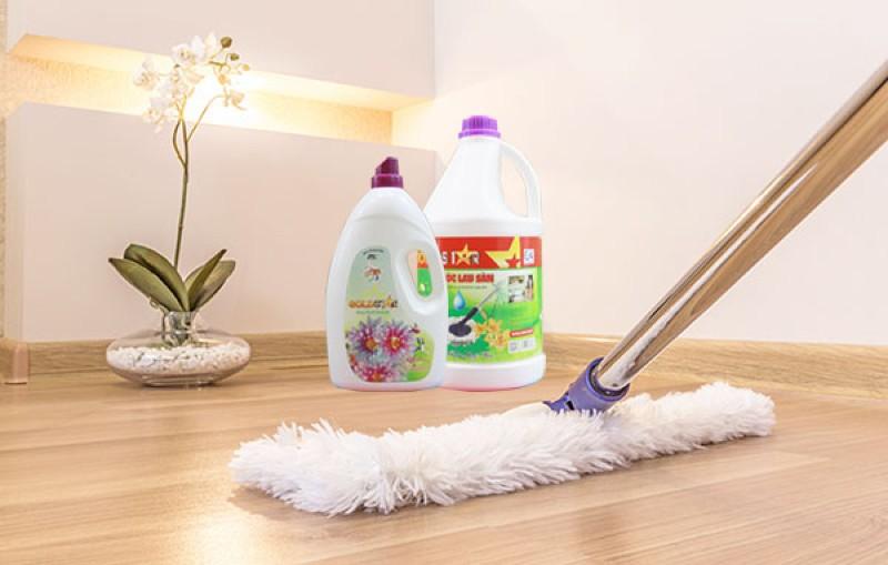 Phân loại nước lau sàn nhà