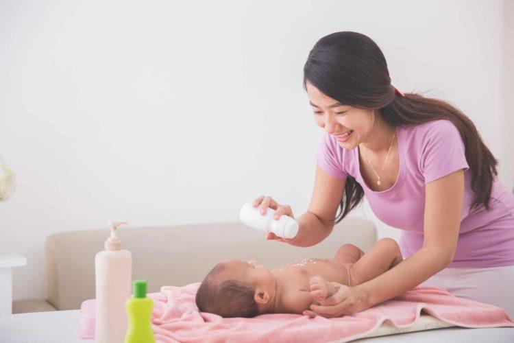 Tiêu chí lựa chọn phấn rôm cho bé
