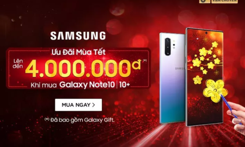 Ưu đãi  mùa Tết từ Samsung - Galaxy Gift giảm ngay 4.000.000đ 1