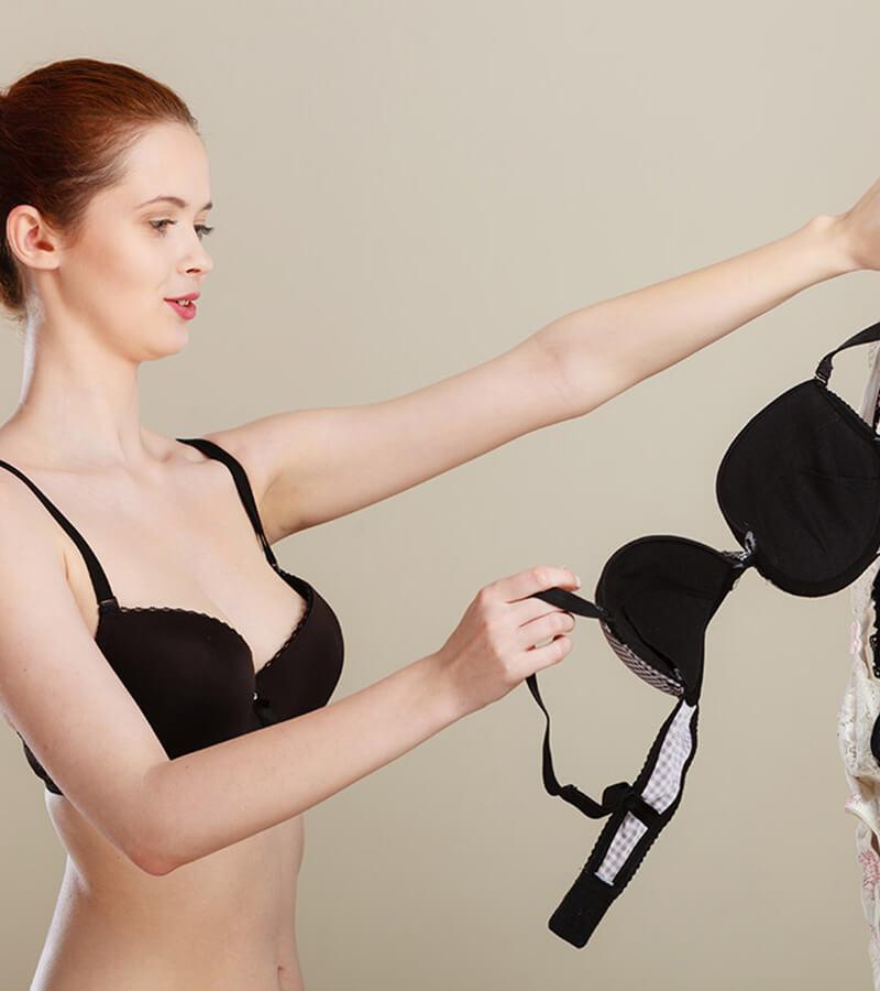 Cách phân biệt áo ngực độc hại