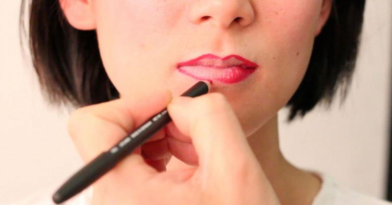 Cách sử dụng chì kẻ môi