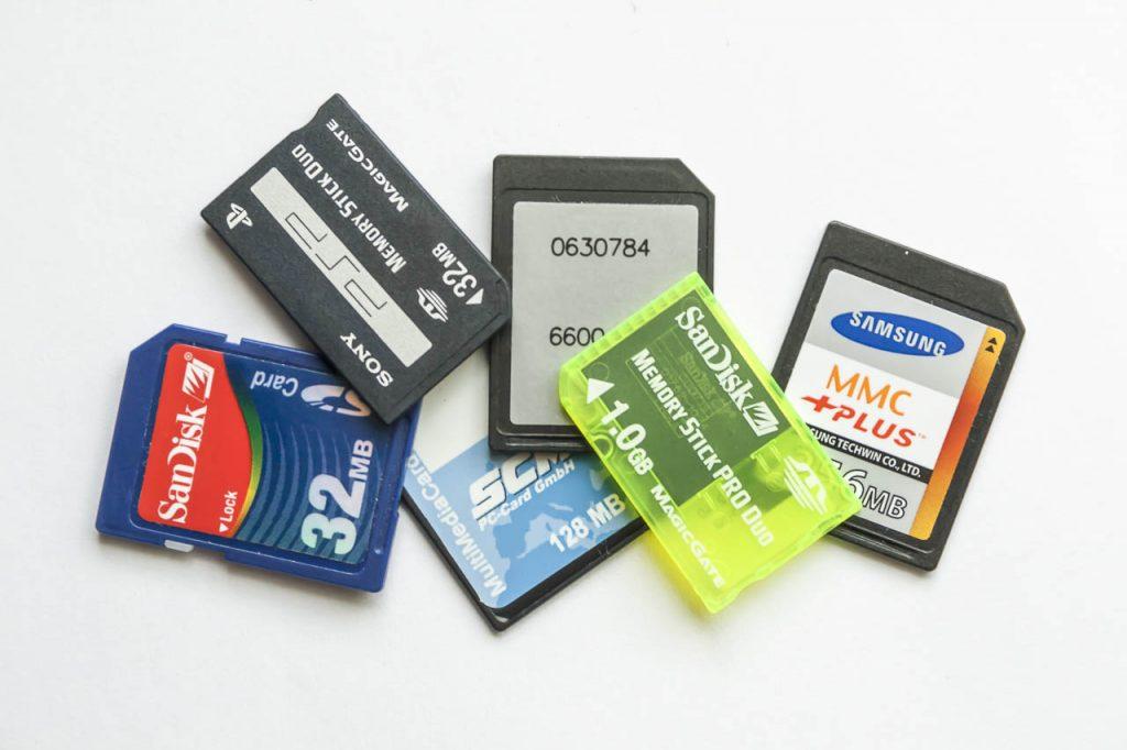 Các loại thẻ nhớ trên thị trường hiện nay
