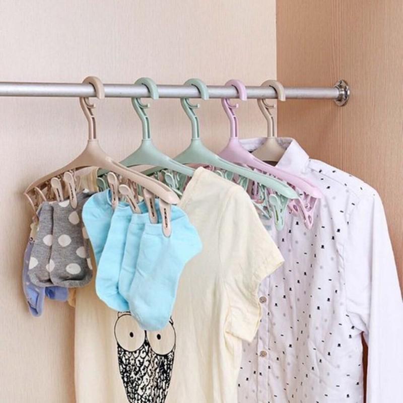 Hướng dẫn phân loại móc treo quần áo