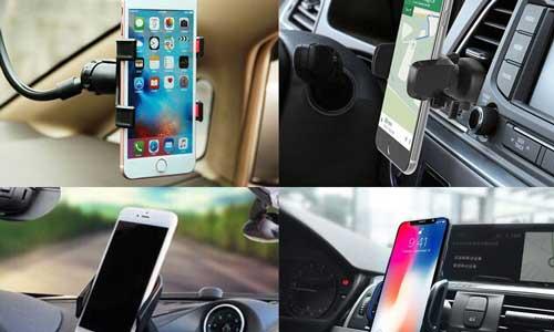 """Top 5 giá đỡ điện thoại tiện lợi cho các bác tài """"công nghệ"""""""