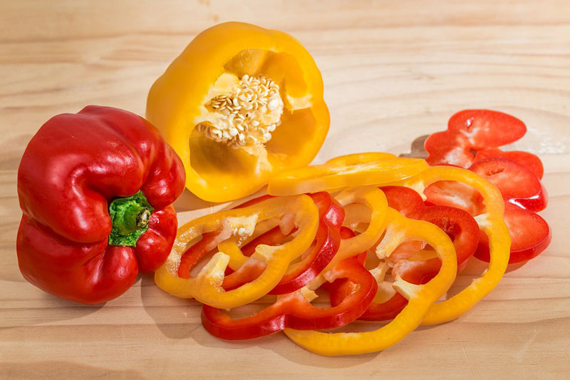 Ớt chuông là nguồn cung cấp vitamin C rất lớn cho cơ thể.