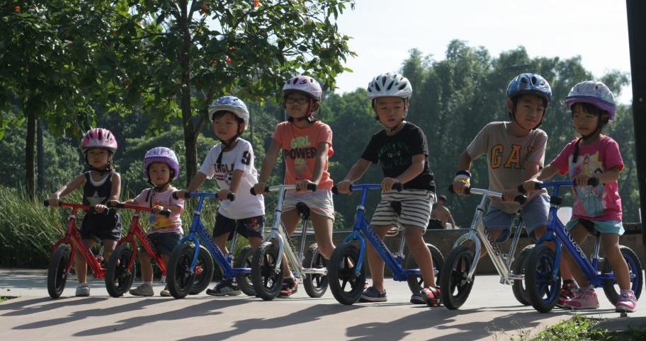 Xe thăng bằng trẻ em Cruzee nhiều màu sắc