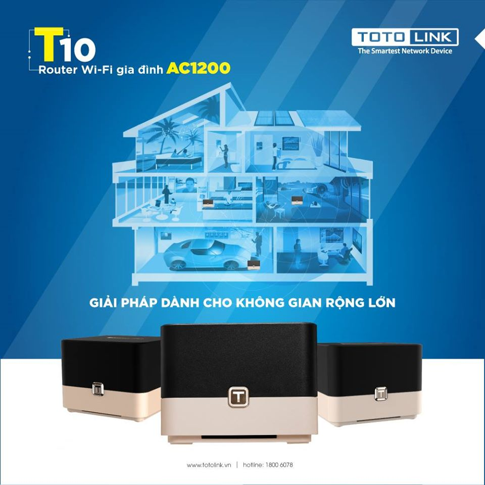 Router Mesh TOTOLINK T10