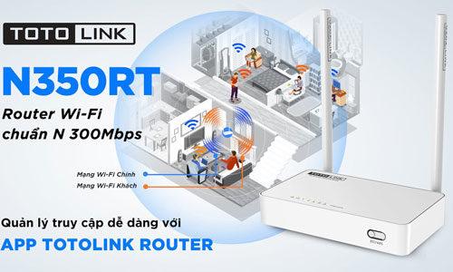 Review Router Wifi Totolink N350RT - Phân khúc giá rẻ